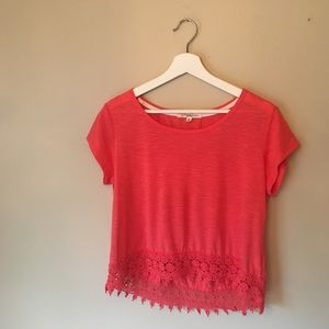 Lacey Pink Top